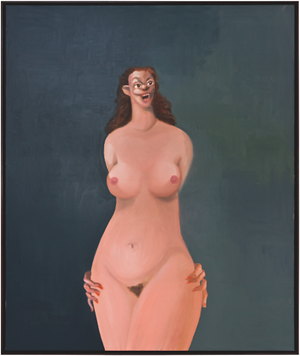 The Model by George Condo contemporary artwork