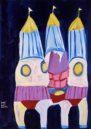 Rocket House by Aki Kondo contemporary artwork
