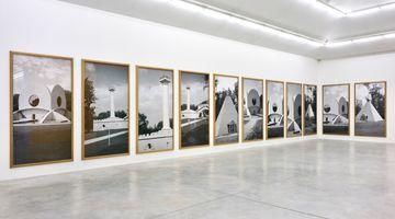 Contemporary art exhibition, Günther Förg, A Game of Chess at Almine Rech, Rue de Turenne, Paris