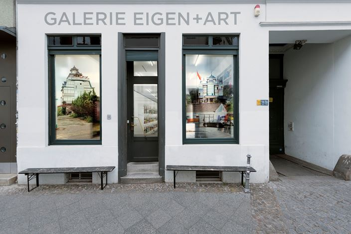 Exhibition view: Li Qing, EAST OF EDEN, Galerie EIGEN + ART, Berlin (7 July–22 August 2020). Courtesy Galerie EIGEN + ART.  Photo: Uwe Walter, Berlin.