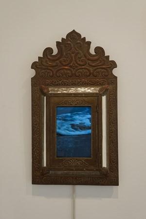 Mirror by Hu Jieming contemporary artwork installation