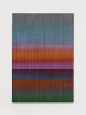 The East 2021 No. 4 by Liu Wei contemporary artwork painting, works on paper