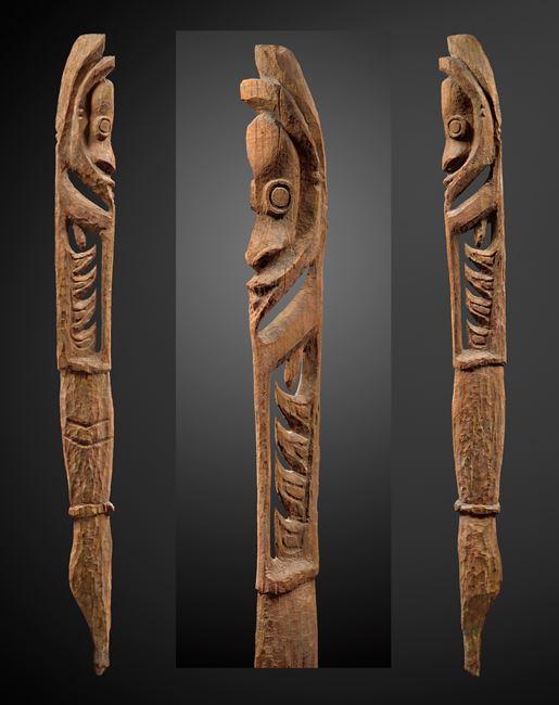 Large 'Aripa' hunting and warfare spirit figure by Melanesia contemporary artwork