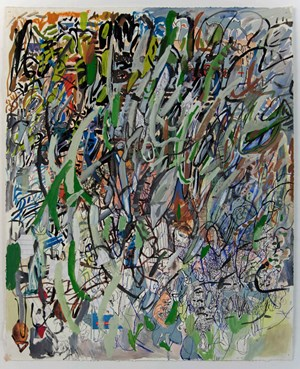 29.8.18.4 by Elliott Hundley contemporary artwork