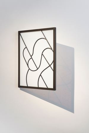 Stained Glass Series, Untitled (8) by David Murphy contemporary artwork