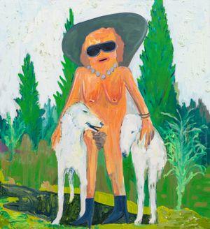 spiritual pursuit by Pow Martinez contemporary artwork