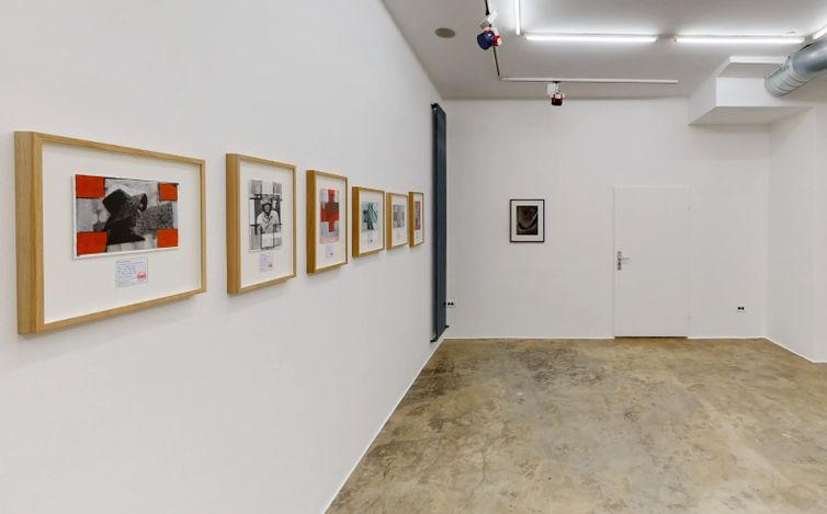 Exhibition view: Tihomir Pinter, Roman Uranjek & Tadej Vaukman, Jesenice Project, Galerija Fotografija, Ljubljana (16 March–30 April 2021). Courtesy Galerija Fotografija.
