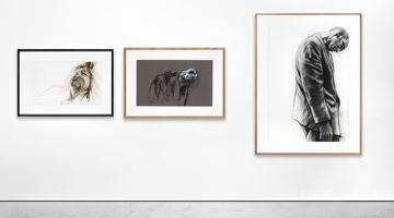 Contemporary art exhibition, Ernest Pignon-Ernest, Ernest Pignon-Ernest : Naples - Pasolini - Derrière la vitre at Galerie Lelong & Co. Paris, 13 Rue de Téhéran, Paris