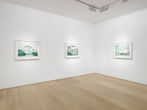 Exhibition view:Milton Avery, Victoria Miro Mayfair, London (7 June–29 July 2017). Courtesy the Artist and Victoria Miro. Photo: Jack Hems. © Milton Avery.