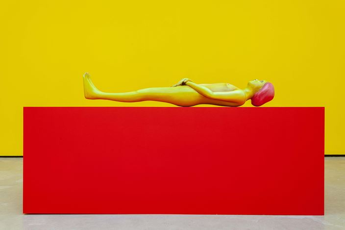 Nicolas Party, Body (2019).Exhibition view: Nicolas Party,Polychrome, The Modern Institute, Osborne Street, Glasgow (25 May–24 August 2019). Courtesy the artist and The Modern Institute/Toby Webster Ltd, Glasgow.