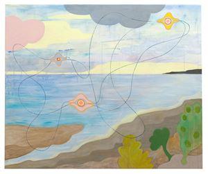 Okända landskap med trådar 1 by Carin Ellberg contemporary artwork