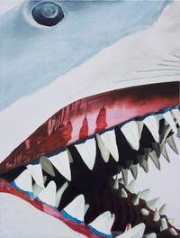 Jaws by Wang Qiang contemporary artwork painting