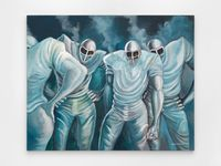 Climatic Conditions by Ernie Barnes contemporary artwork painting