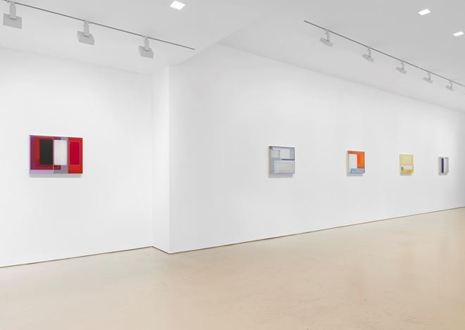 Exhibition view: Patrick Wilson, Miles McEnery Gallery, 520 West 21st Street, New York (10 October–9 November 2019). Courtesy Miles McEnery Gallery.