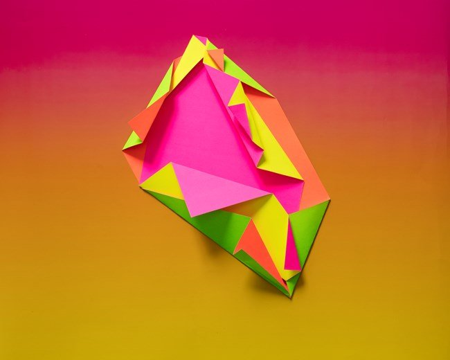 Papercraft 4 by Judy Darragh contemporary artwork