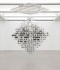 Continuel mobile en diagonal by Julio Le Parc contemporary artwork sculpture