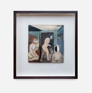 Three Figures by Simon Stone contemporary artwork