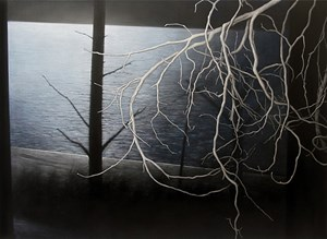 River (glimpse) by Andrew Browne contemporary artwork