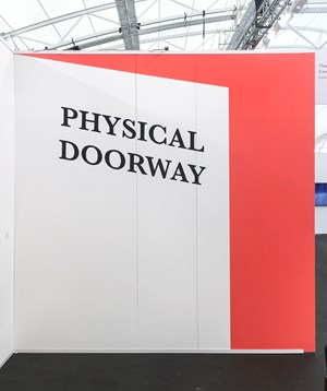 PHYSICAL DOORWAY (OPEN) by Agatha Gothe-Snape contemporary artwork