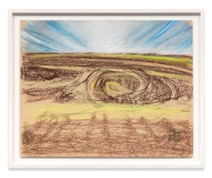 Crater (Kilbourne Hole) by Richard Artschwager contemporary artwork