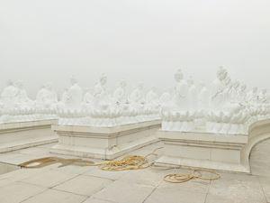Buddha Statues by Zhang Kechun contemporary artwork