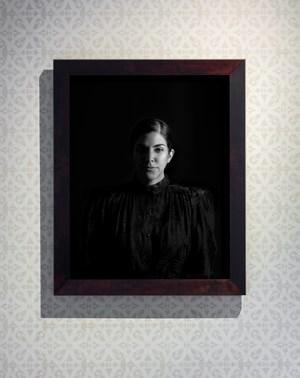 Portrait of Woman as Dictator I by Heba Y. Amin contemporary artwork