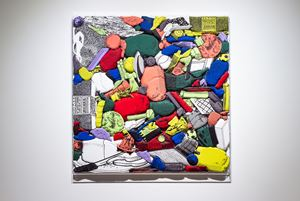 Games, Dance and the Constructions (Soft Toy) by Teppei Kaneuji contemporary artwork