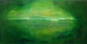 From across the ocean by Baba Kentaro contemporary artwork painting
