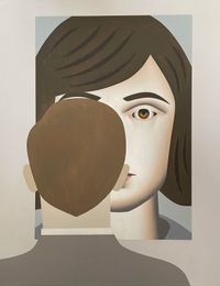 Looking at Christine by Gavin Hurley contemporary artwork painting