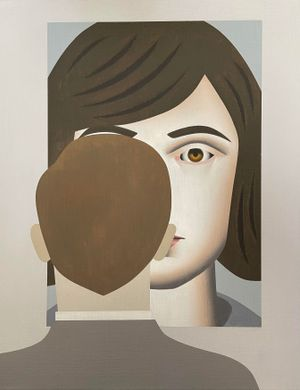 Looking at Christine by Gavin Hurley contemporary artwork