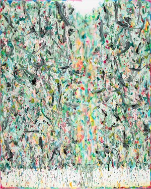 Fountain of Abstraction 2017-3 抽象之泉 2017-3 by Xue Feng contemporary artwork
