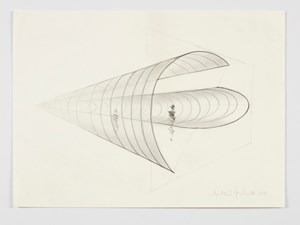 Study for Meeting You Halfway (II) by Anthony McCall contemporary artwork