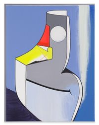 Allegorische Figur by Thomas Scheibitz contemporary artwork mixed media