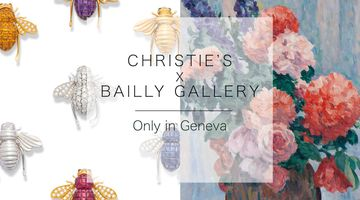 Contemporary art exhibition, Christie's X Bailly Gallery at Bailly Gallery, Geneva