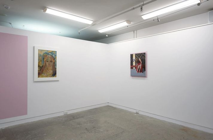 Exhibition view: Figure Skating, PAGE Galleries, Wellington (27 May–19 June 2021). Courtesy PAGE Galleries.