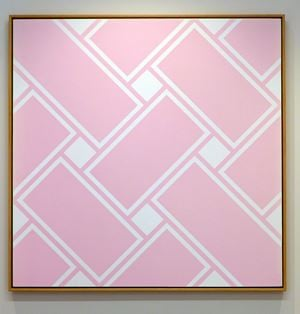 Lattice #120 by Ian Scott contemporary artwork