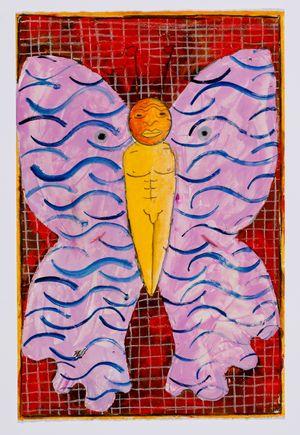 Untitled (moth) #5 by Brendan Huntley contemporary artwork