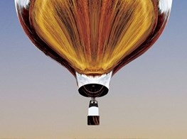 Fluxus in the air: Doug Aitken's hot air balloon sails above Massachusetts