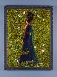 Princess Victoire of Saxe-Coburg-Gotha by Kehinde Wiley contemporary artwork painting