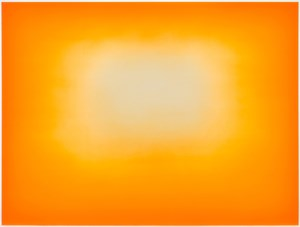 Yellow Rising by Anish Kapoor contemporary artwork