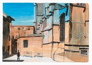 Barcelona, Barri Gòtic by Marc Desgrandchamps contemporary artwork