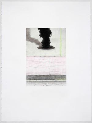 Shoegazer (Astor Pl) by Andrew Browne contemporary artwork