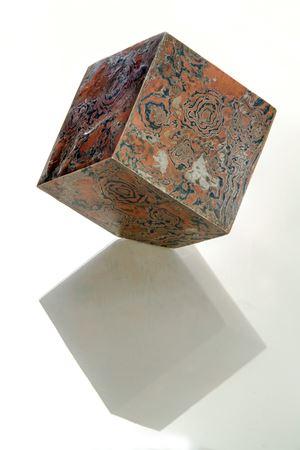 Uncovered Cube #27 by Madara Manji contemporary artwork