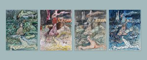 Constant and Impermanence No. 1 by Qiu Xiaofei contemporary artwork