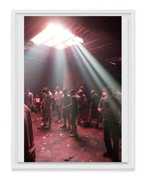 Resolute Rave by Wolfgang Tillmans contemporary artwork