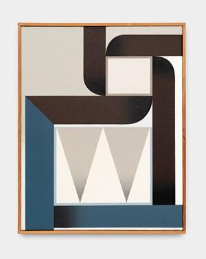 La folle poursuite, 13 septembre 1969 by Léon Wuidar contemporary artwork