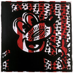 Untitled by Keith Haring contemporary artwork