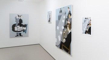 Contemporary art exhibition, Gavin Hurley, Painting Business at Bartley & Company Art, Wellington