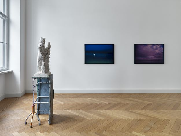 Exhibition view: Group Exhibition, PEDRO CABRITA REIS, NAN GOLDIN, JUSTIN MATHERLY, Kewenig, Berlin (3 February–14 April 2018). Courtesy Kewenig, Berlin. Photo: Stefan Müller.