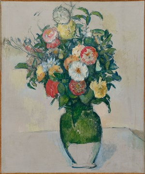 Fleurs dans un pot d'olives by Paul Cezanne contemporary artwork